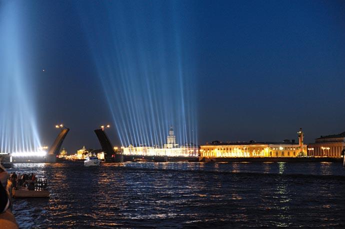 Алые паруса 2012, Санкт-Петербург