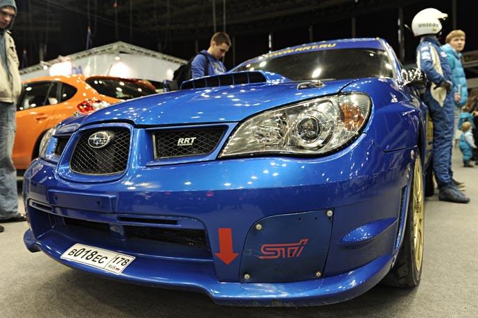 Фото автомобиля с выставки