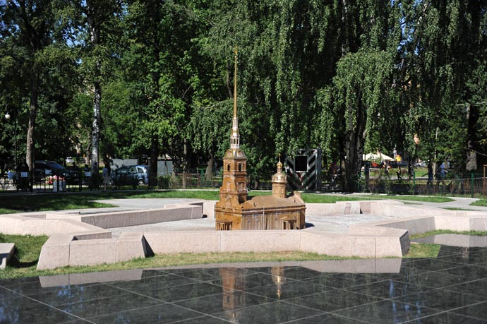 Мини-город Петропавловсая крепость