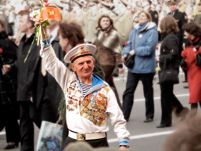 Ветеран Великой Отечественной Войны - моряк