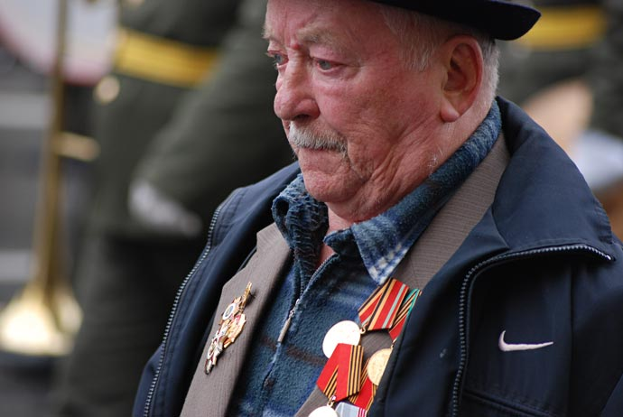 Парад Ветеранов в День Победы 9 мая