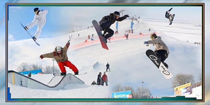 Фотокнига - Сноубордисты