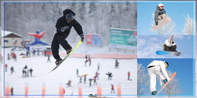 Фотокнига - Сноубординг в Туутари-парке