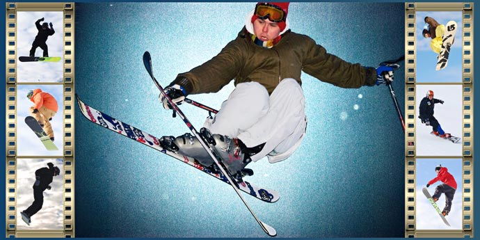 Фотокнига - Сноубординг и фристайл