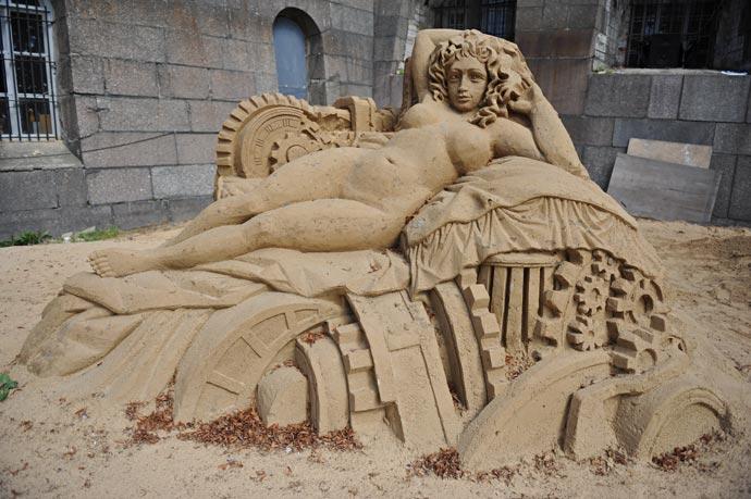 Фестиваль скульптуры из песка