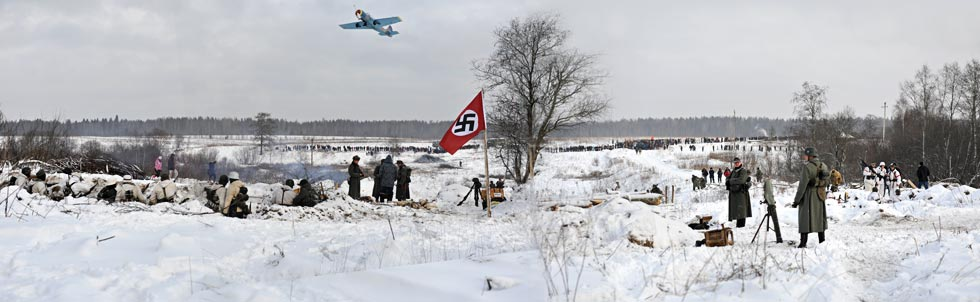 «Январский гром» в военно-исторической реконструкции.