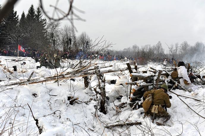 Военно-историческая реконструкция - В полосе прорыва