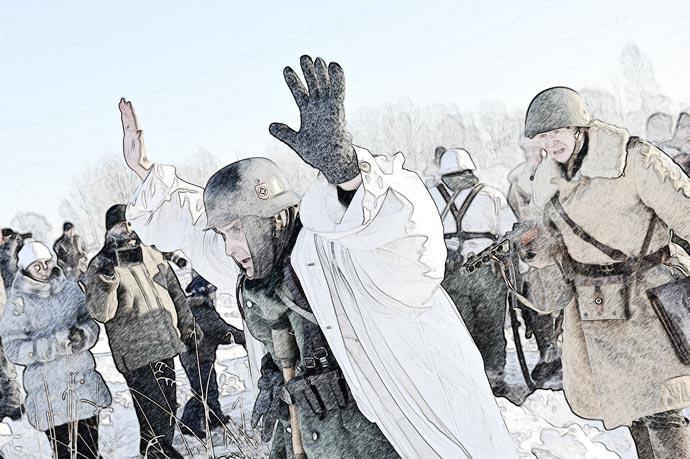 Военно-историческая реконструкция в рисунках (фотошоп)