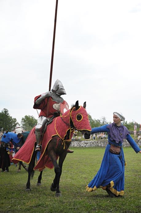 Военно-исторический фестиваль групп реконструкции средневековья - Русская крепость