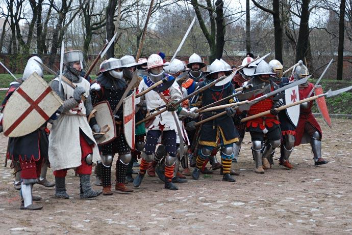 Клубы реконструкции рыцарей