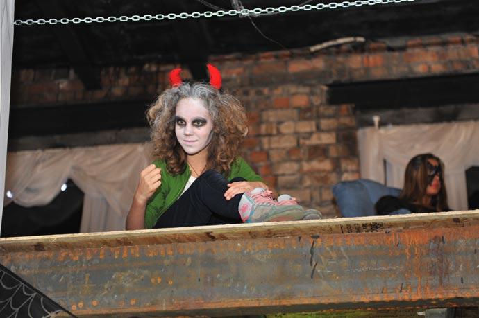 Хэллоуин в фотостудии
