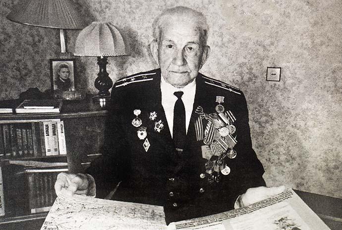 Участник Великой Отечественной Войны Всеволод Иванович Байков