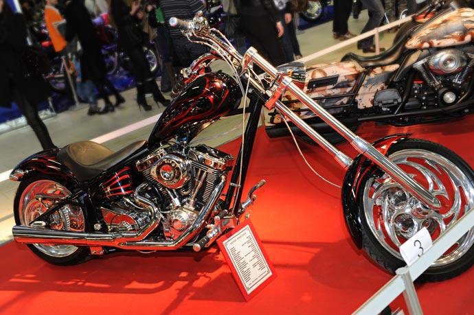 Мотоцикл Saxon Warlord