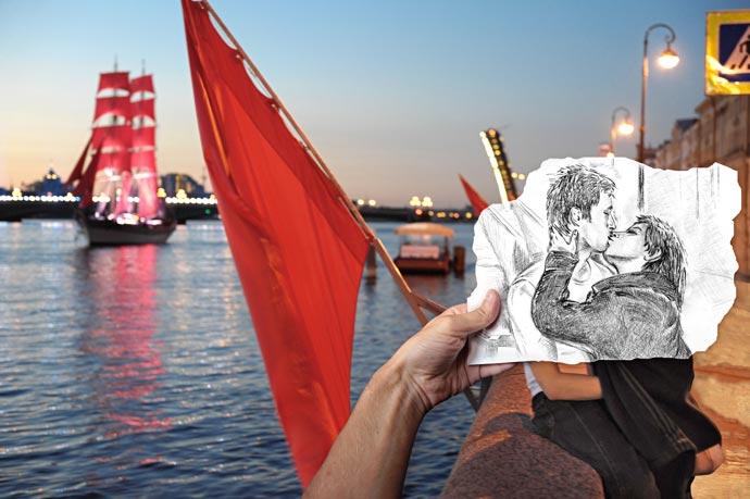 Любовь под Алыми парусами