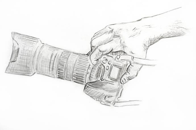 Набросок руки