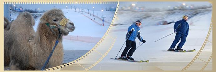 Фотокнига - Сергей Нарышкин катается на горных лыжах в Туутари-парке