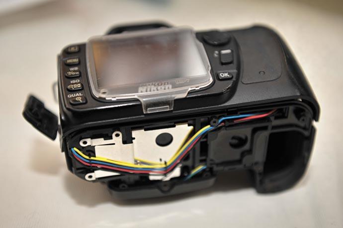 Nikon D-80, ошибка затвора Err