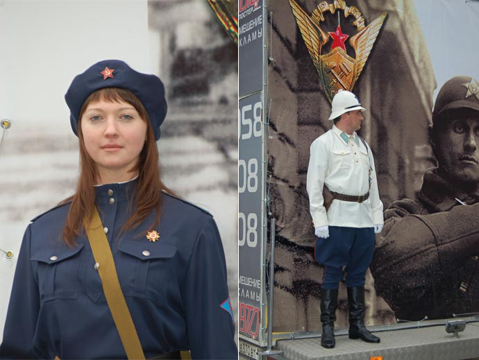 Рабоче-крестянская милиция в годы войны