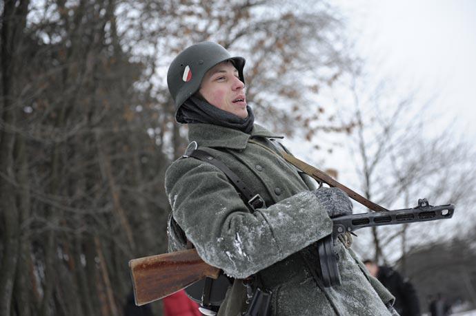 Военно-историческая реконструкция - За Ленинград! 27.01.2013