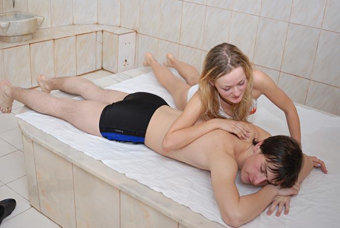 Фотосессия в бане