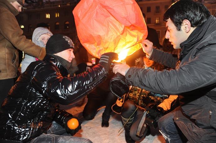 День святого Валентина - Целующийся город, Санкт-Петербург