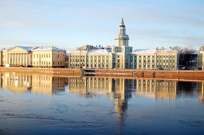 Петербург зимой