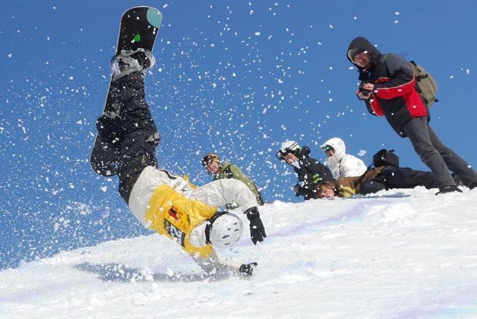 Сноубординг на Игоре