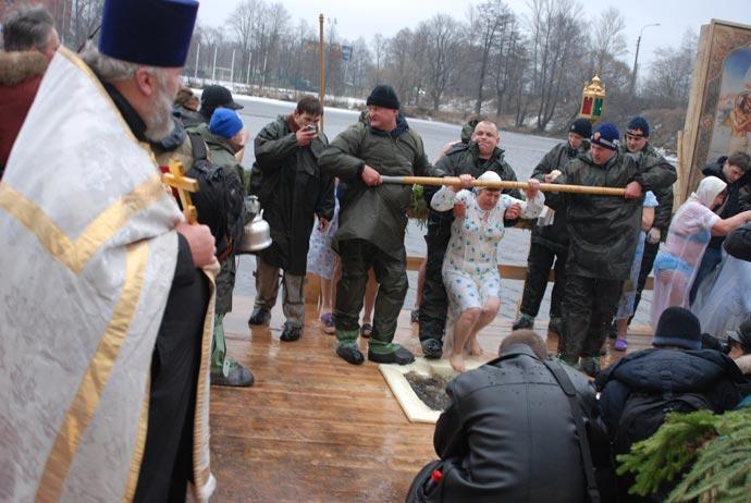 Крещение в Сестрорецке